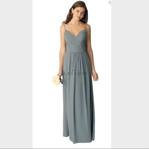 Bill Levkoff Style # 1296 Slate Dress